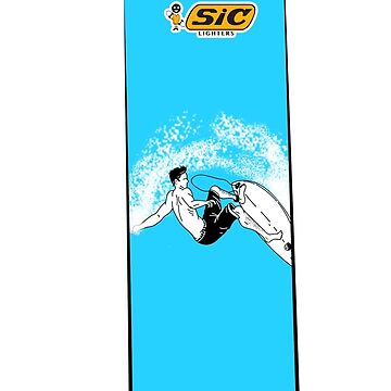 SIC Lighters - Surfing by fred-moose