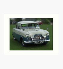 """Classic Car Time Warp"" Art Print"
