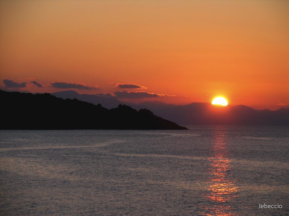 Sunset by lebeccio