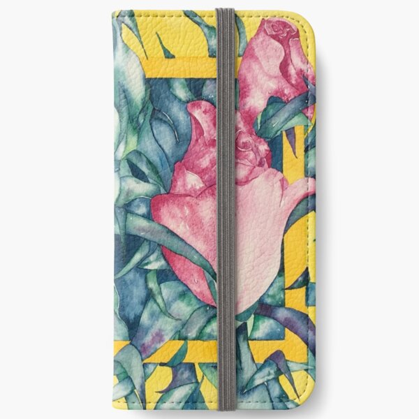 Rose Buds iPhone Wallet