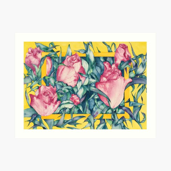 Rose Buds Art Print