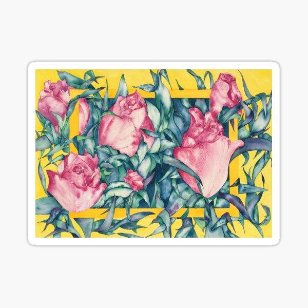 Rose Buds Sticker