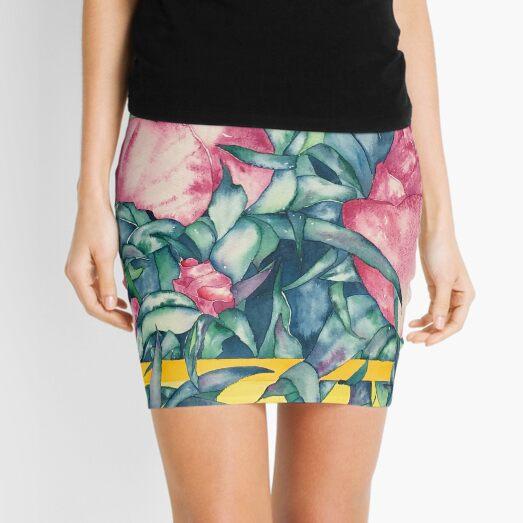 Rose Buds Mini Skirt