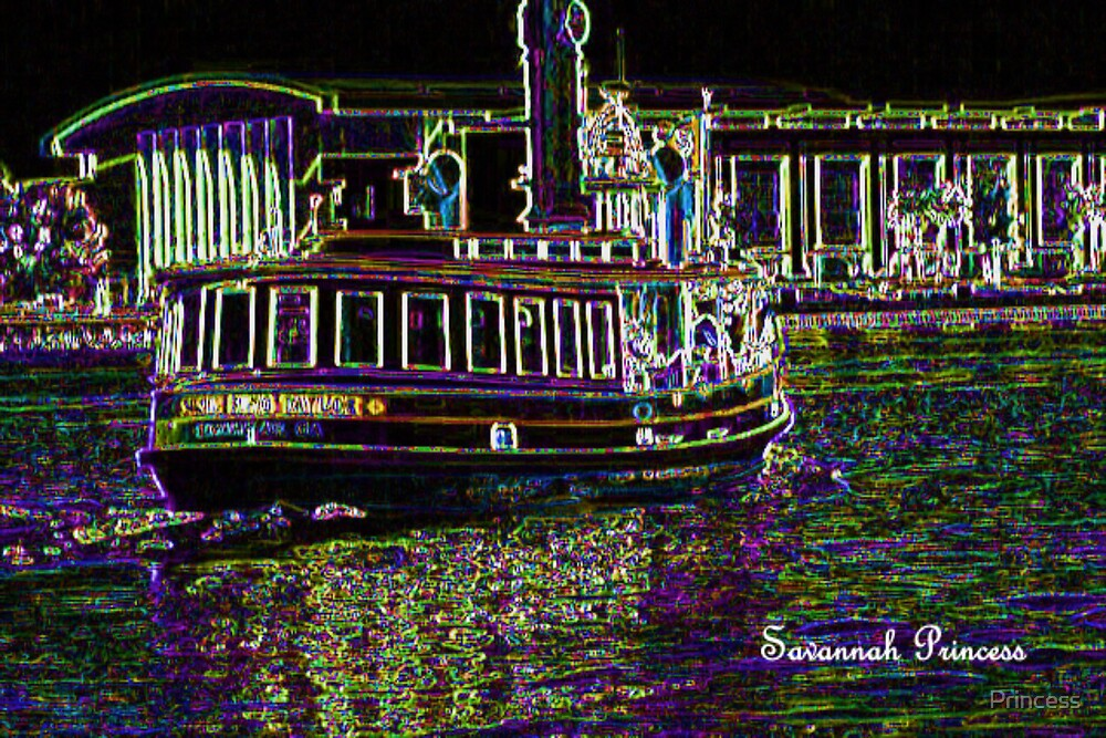 Ferry glow by Princess