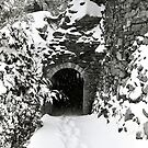 Tunnel in Snow by Mark Ramstead