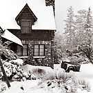 Mt. Baldy Cabin in a Snowstorm by Mark Ramstead