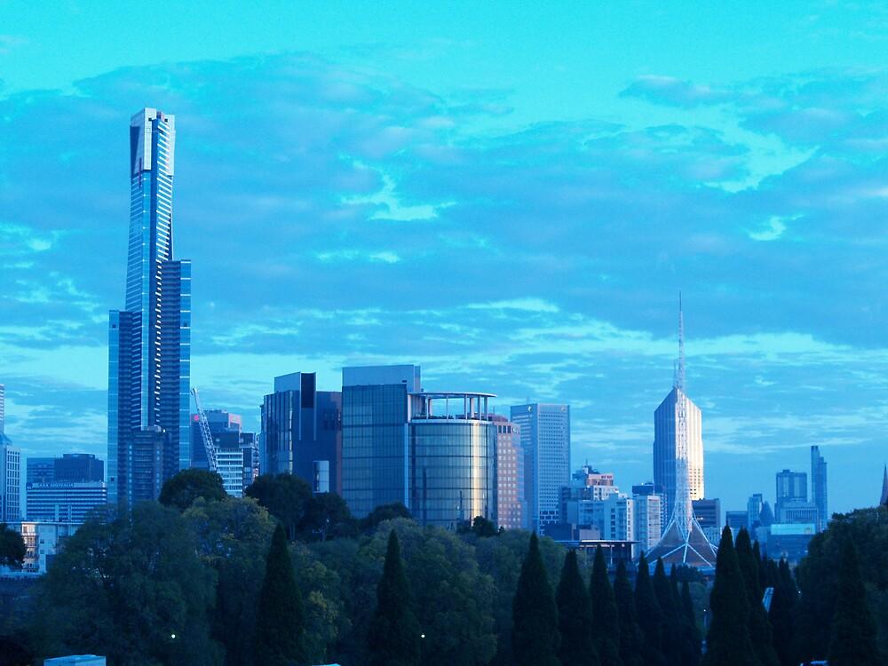 Future Melbourne by focus