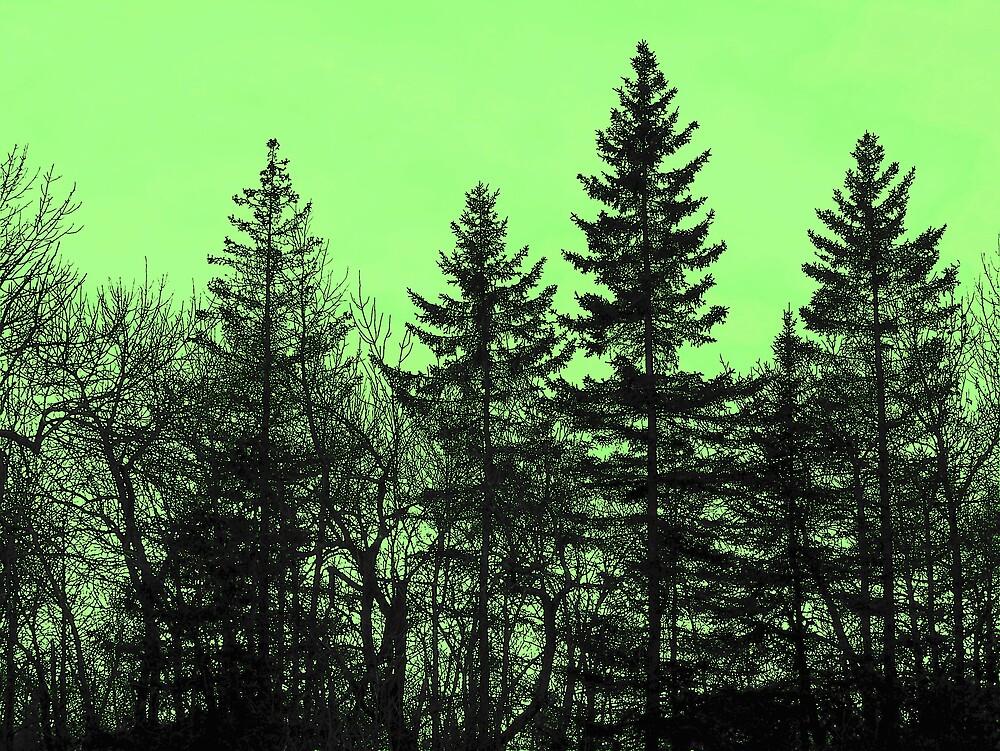 Green In Green by Gene Cyr