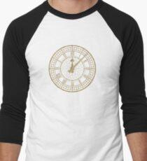 Elegant Vintage Gold Clock with Glotter T-Shirt
