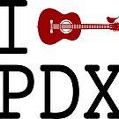 Portland guitar by boogiebus