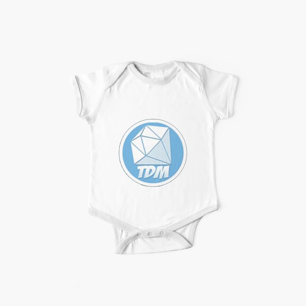 DanTDM Logo Merch! Bodies para bebé