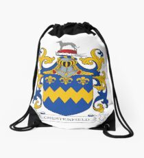 Chesterfield Coat of Arms Drawstring Bag