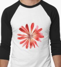 Red Pink Flower Petals T-Shirt