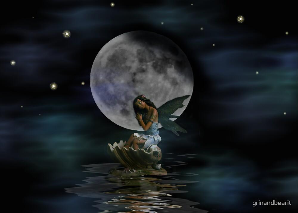 Water Fairie by grinandbearit