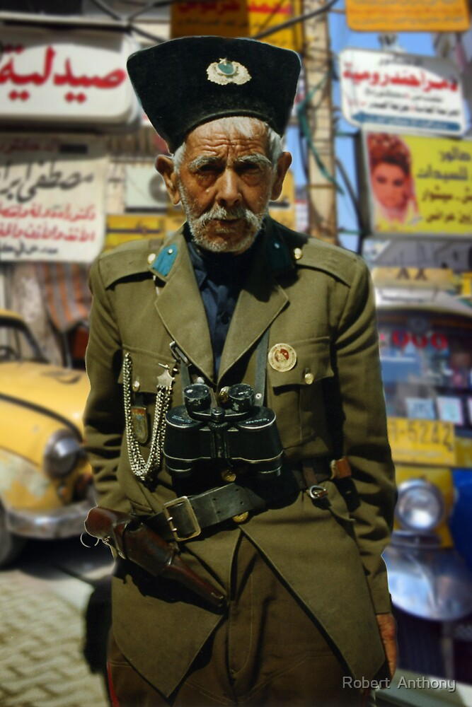 Old Soldier From Istanbul by Robert  Anthony