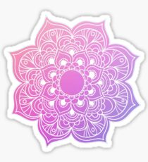 Mandala Pink Purple Sticker