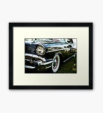 Eyebrows and Waistline - Belair Framed Print