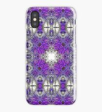 Palm Leaves Abstract Art Pattern  iPhone Case