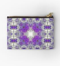 Palm Leaves Abstract Art Pattern  Studio Pouch