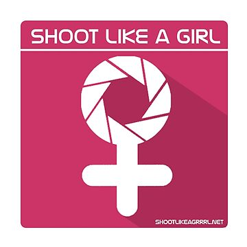 Shoot Like a Girl by littleredplanet