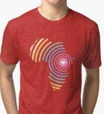 Support Rafiki Mwema Tri-blend T-Shirt