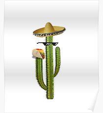 Taco Cactus Poster