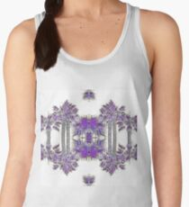 Passionately Purple Palm Leaves  Women's Tank Top