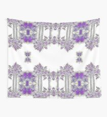 Passionately Purple Palm Leaves  Wall Tapestry