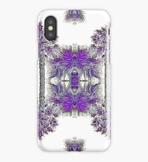Passionately Purple Palm Leaves  iPhone Case