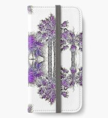 Passionately Purple Palm Leaves  iPhone Wallet/Case/Skin