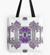 Passionately Purple Palm Leaves  Tote Bag