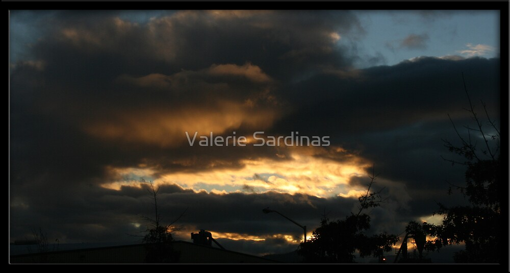 Fire Clouds by Valerie Sardinas