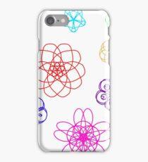Flower Spirals iPhone Case/Skin