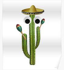 Dancing Cactus  Poster
