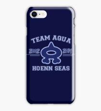 Team Aqua iPhone Case/Skin