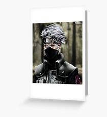Ninja master Greeting Card