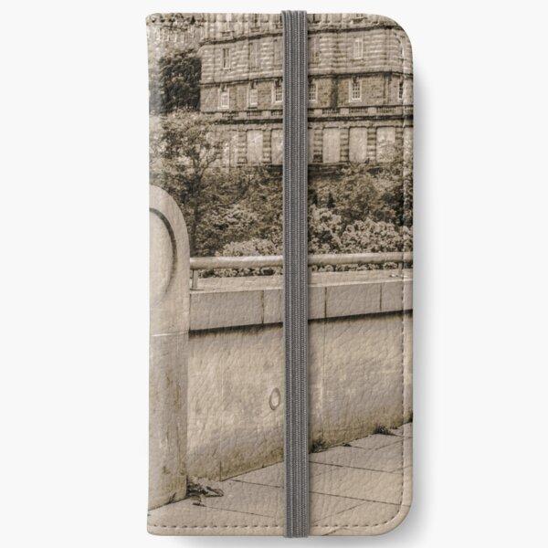 Bagpipe Player - Edinburgh, Scotland iPhone Wallet
