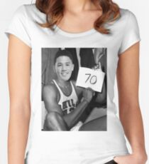 Devin Booker - 70pts vs Celtics Women's Fitted Scoop T-Shirt