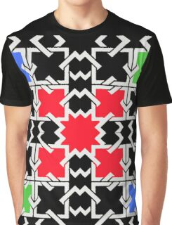 Squares and  Colors Graphic T-Shirt