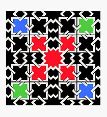 Squares and  Colors Photographic Print