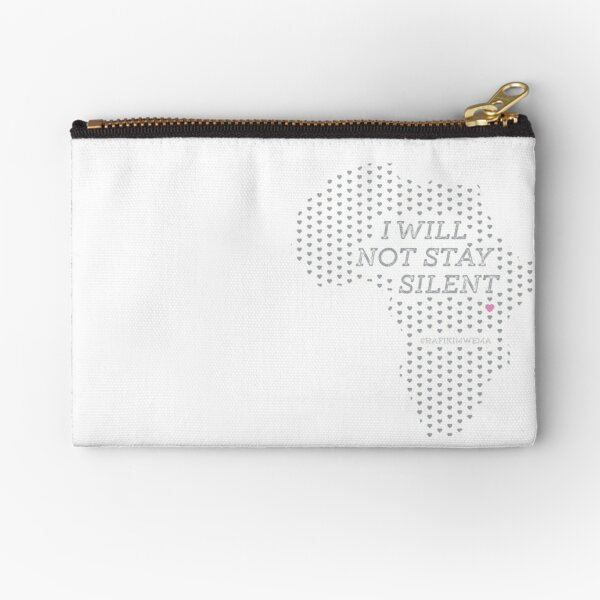 I will not stay silent Zipper Pouch