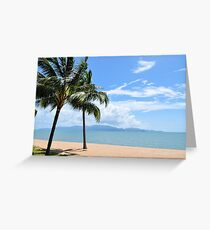 Trees Blowing in the Breeze Greeting Card