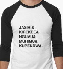 Fierce Kids Swahili Words Men's Baseball ¾ T-Shirt