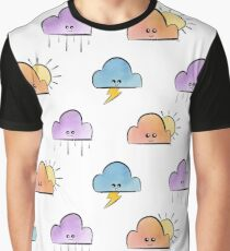 Pretty little clouds Graphic T-Shirt