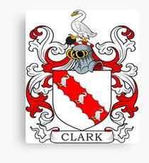 Clark Coat of Arms Canvas Print