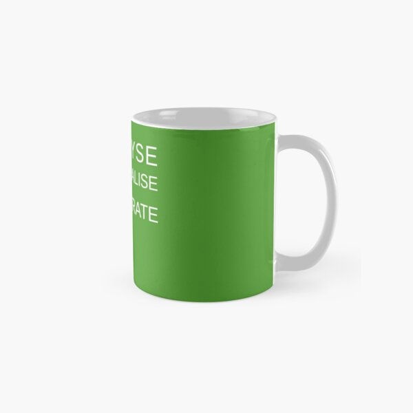 ALKALYSE REMINERALISE REGENERATE  - VEGAN - UREKA.ORG Classic Mug