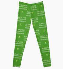 ALKALYSE REMINERALISE REGENERATE  - VEGAN - UREKA.ORG Leggings