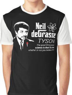 Neil deGrasse Tyson Godfather Graphic T-Shirt