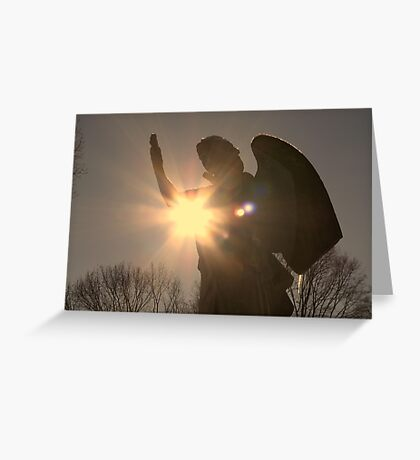 Heavenly Messanger Greeting Card