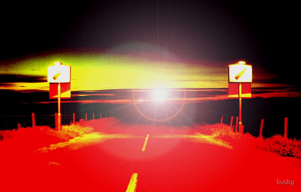 Road to nowhere by busby